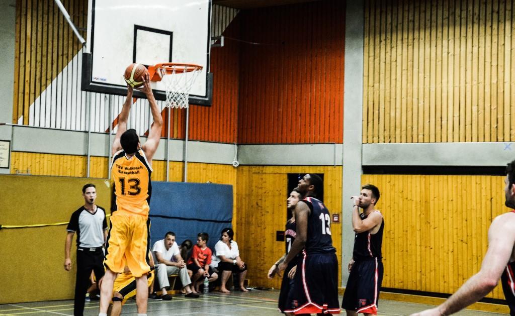 Wolnzacher Herren1 schnuppern College-Luft » TSV Wolnzach Basketball